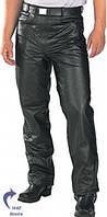 Мужские кожаные байкерские мотоштаны  B7400