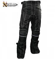 Мужские текстильные мотоштаны  B4406 с защитой Level-3