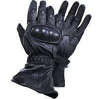 Кожаные полнопалые мотоперчатки  XG815 с защитой, фото 1