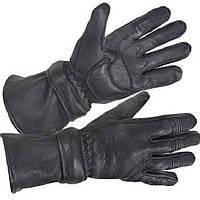 Перчатки полнопалые XG852 из оленьей кожи байкерские с влагопоглощающим слоем, фото 1