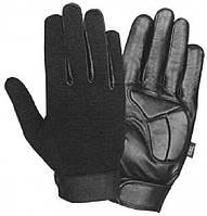 Стрейчевые полнопалые мотоперчатки XG446 с кожаными вставками, фото 1