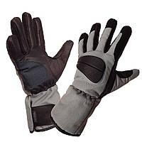Мужские полнопалые текстильные мотоперчатки XG-253 из кордуры с кожаными вставками , фото 1
