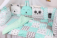 Комплект в детскую кровать . Ткань на выбор