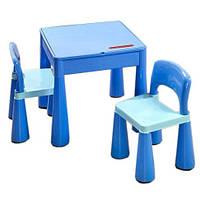 Комплет детской мебели Tega Baby Mamut (стол+2 стула) цвет синий