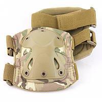 Комплект захисту тактичні наколінники і налокітники PA-2 камуфляж мультикам
