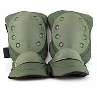 Комплект захисту тактичні наколінники і налокітники PA-8 камуфляж мультикам