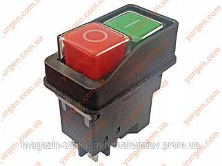 Кнопка для бетономешалки 5 контактов.