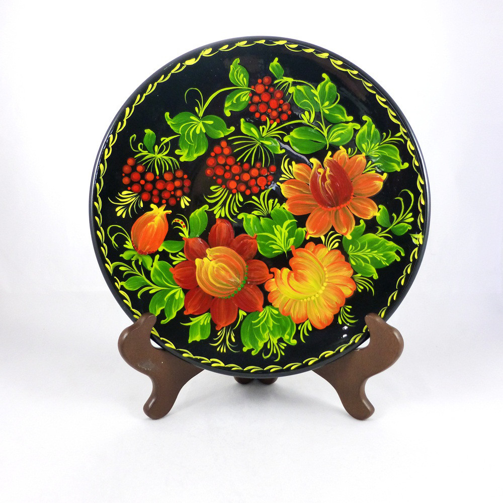 Цветы М-1 Тарелка Д250