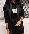 Платье женское модное стильное с поясом размер универсальный 42-46 купить оптом со склада 7км Одесса, фото 2