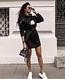 Платье женское модное стильное с поясом размер универсальный 42-46 купить оптом со склада 7км Одесса, фото 3