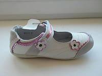 Туфли кожаные для девочки, размер 35