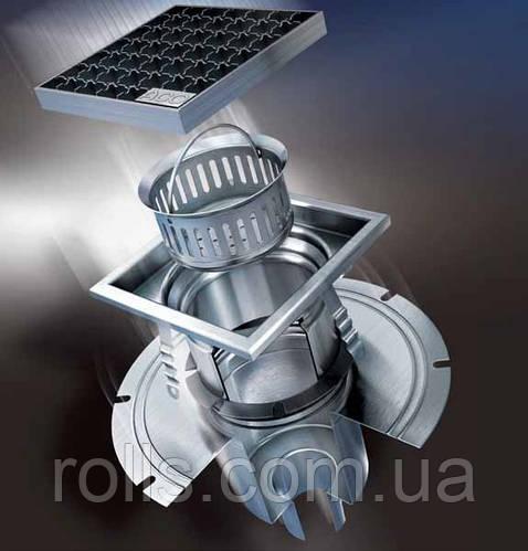 Системы водоотвода АСО из нержавеющей стали