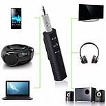 Bluetooth аудио адаптер Sonmax Aux 3.5 мм Black, фото 4