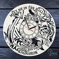 """Тематические интерьерные настенные часы """"Vikings"""""""