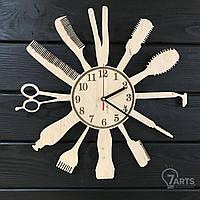 Настенные часы в парикмахерскую