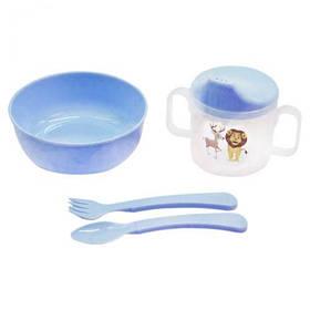 """Набор детской посуды """"Honey Baby"""" (голубой)  sco"""