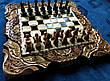 Шахи-нарди-шашки 3 в 1, різьба по дереву, фото 2