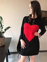 Светр-плаття з вовни мериноса