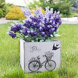 Кашпо велосипед прованс дерево 20*20 см D0001-1