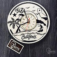 """Интерьерные часы на стену """"Калифорния"""""""