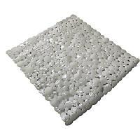 Коврик в ванную комнату антискользящий резиновый 53х53 см Bathlux Rosa 40263
