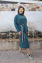 Стильное платье Оверсайз 05069