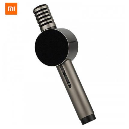 Караоке-микрофон Xiaomi X3 HoHo Sound MIC с колонкой (Графитовый), фото 2