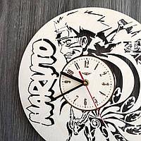 """Деревянные настенные часы """"Наруто"""""""