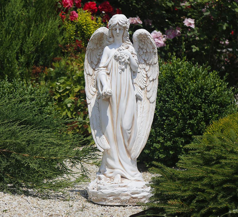 Садовая фигура Ангел 74х32х28 см ССК12008