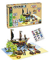 Студия Stikbot Стикбот, пиратский корабль