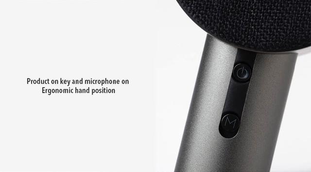 Караоке-микрофон Xiaomi X3 HoHo Sound MIC с колонкой Графитовый