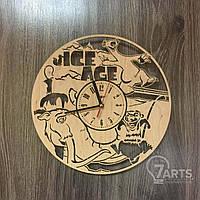"""Часы деревянные детские """"Ледниковый период"""""""
