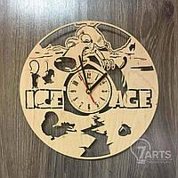 """Часы деревянные детские """"Ледниковый период 2"""""""