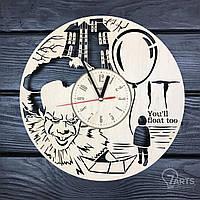 """Круглые концептуальные часы из дерева """"Оно"""""""