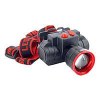 Аккумуляторный налобный фонарик 0605-T6 D1011