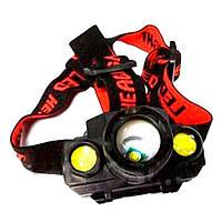 Аккумуляторный налобный фонарик KX-1805 D1011