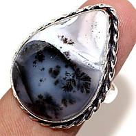 Серебряный перстень с опалом  мерлинитом , размер 18.7 от студии LadyStyle.Biz, фото 1