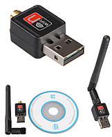 Антерна USB WI-FI Адаптер WF 802.1IN 300 Mbps, беспроводная WI-FI антена