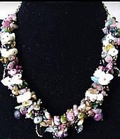 Колье, браслет, серьги с цветным турмалином, фото 1