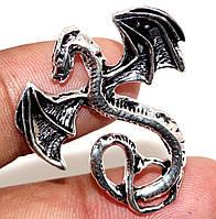 """Серебряный кулон  """"Дракон"""" от студии LadyStyle.Biz, фото 1"""