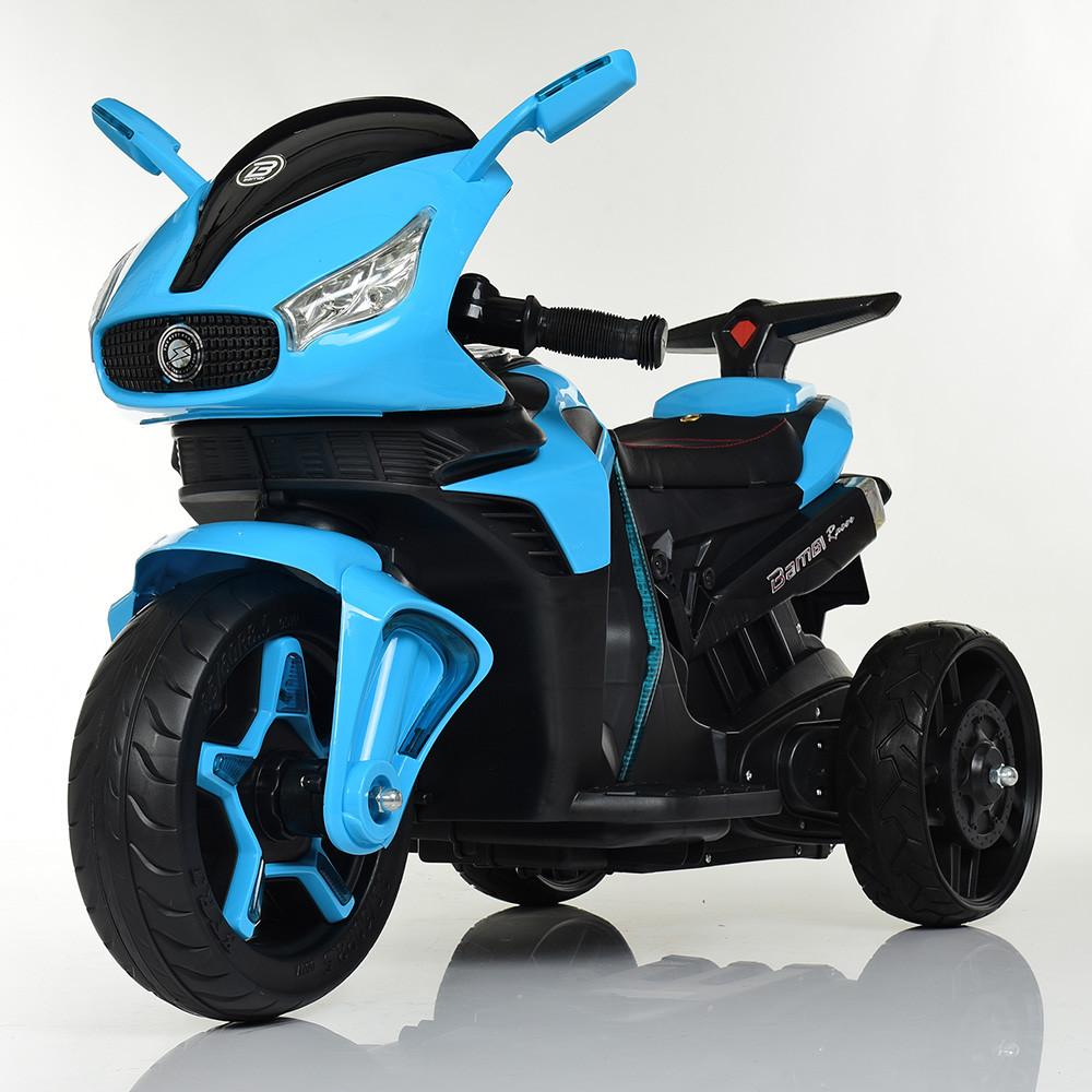 Мотоцикл детский M 3965EL-4 синий Гарантия качества Быстрая доставка
