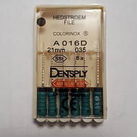 H-File 21мм, уп.6шт, №035, Dentsply Maillefer