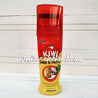 Жидкий крем-блеск для обуви бесцветный Kiwi Shine Protect 75 мл