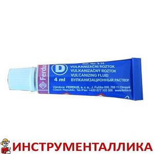 Вулканизационная жидкость D 4 мл Ferdus Чехия