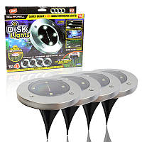 Уличный светильник на солнечной батарее Solar Disk Lights 5050 149966