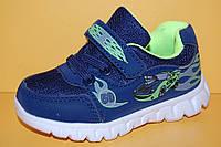 Детские кроссовки повседневные Том.М Китай 3949 Для мальчиков Темно-синий размеры 21_26, фото 1