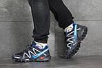 Чоловічі кросівки Salomon (синьо-білі), фото 3