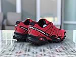 Чоловічі кросівки Salomon (червоні), фото 4