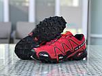 Чоловічі кросівки Salomon (червоні), фото 6