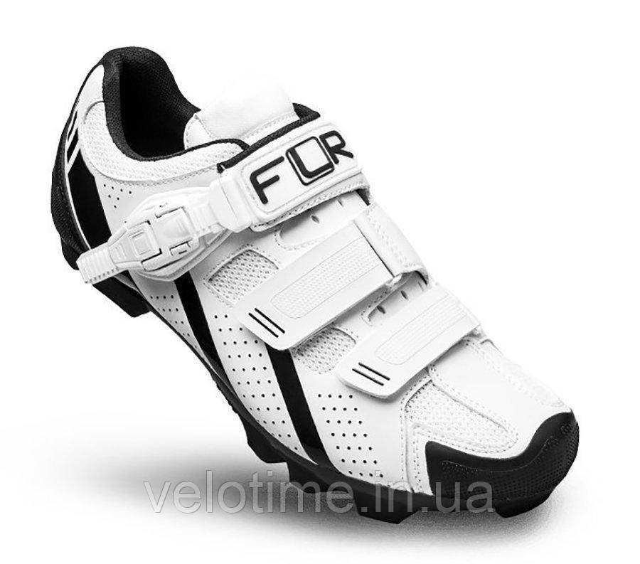Велосипедные туфли МТБ FLR F-65  (41р., белый)
